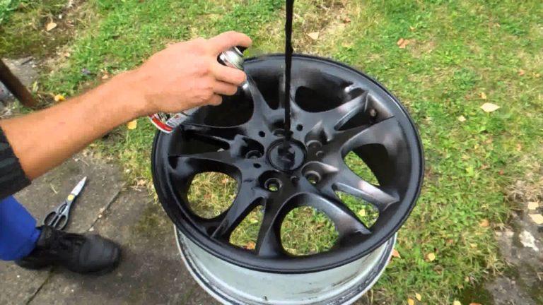 Покраска дисков авто своими руками