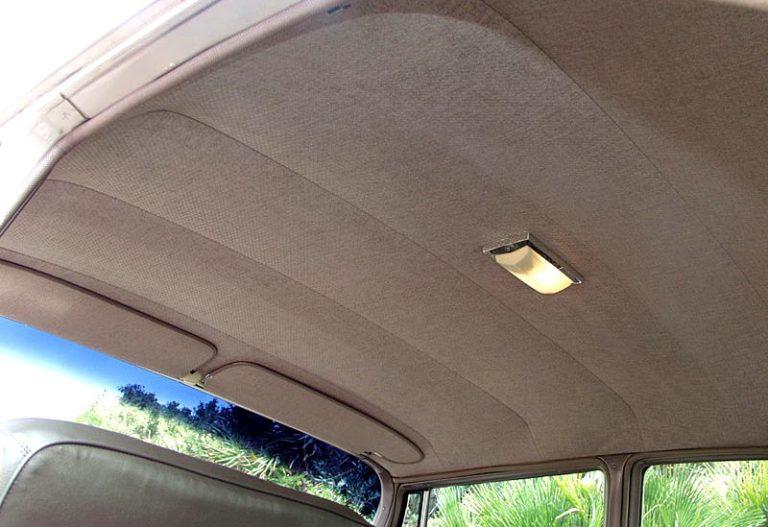 Перетяжка потолка авто своими руками