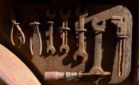 Быстрый способ отремонтировать старые ключи в гараже