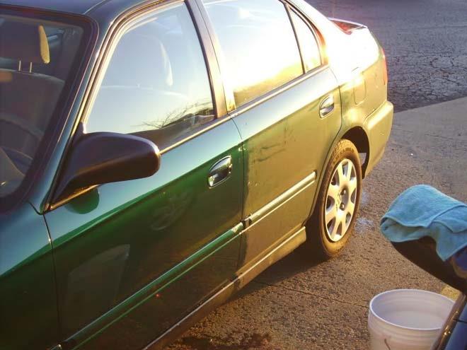 Как самому правильно помыть автомобиль