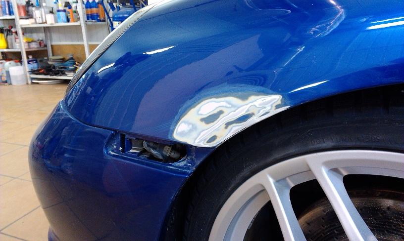 Покраска авто в СПб. Стоимость локальной покраски