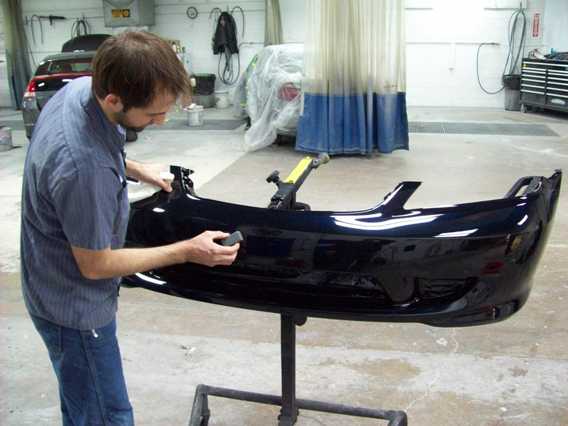 Как самому отремонтировать бампер авто?