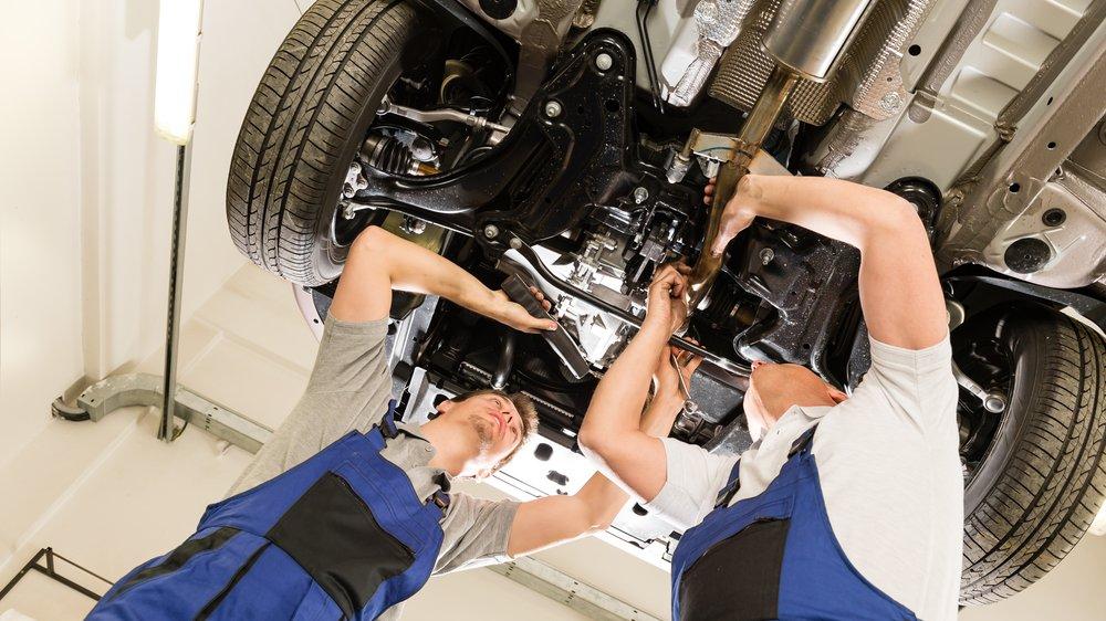 Комплексный ремонт автомобиля