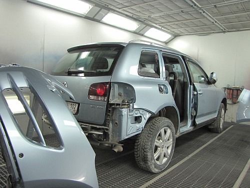 Кузовной ремонт Фольксваген