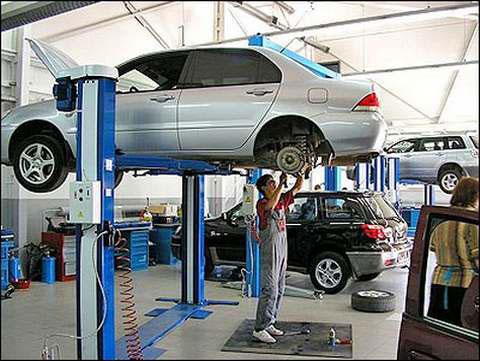 Просмотр станций по ремонту авто