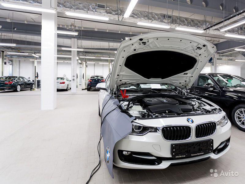 Ремонт автомобиля BMW в СПб