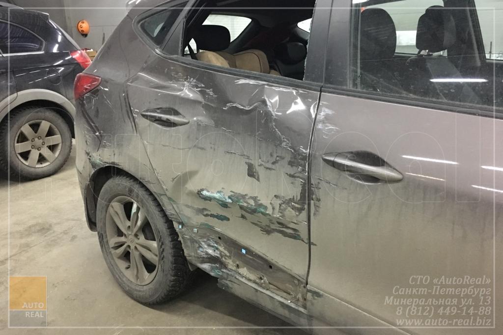 Кузовной ремонт Хендай