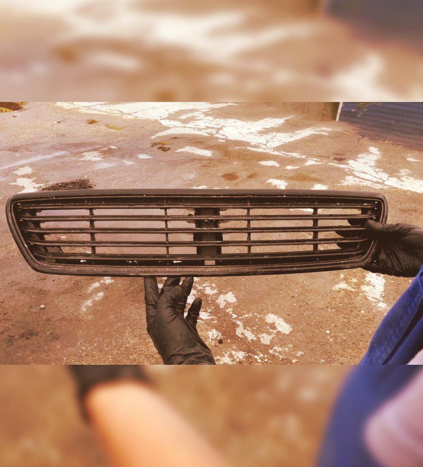 Покраска решетки радиатора