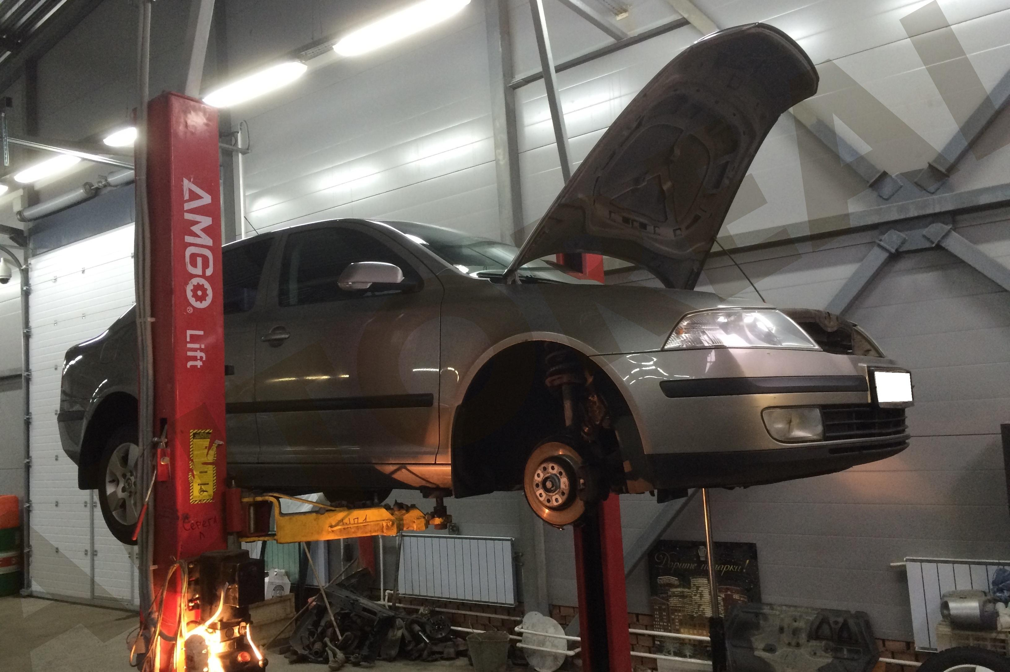 Кузовной ремонт Шкода